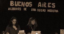 """Presentación del libro """"Buenos Aires: Albores de una ciudad moderna"""" en el Museo Interactivo de la Universidad Nacional de General Sarmiento (Argentina)"""