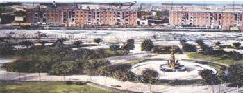 Escenario de zonificación urbana