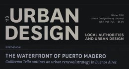 "Publicación del paper ""The Waterfront of Puerto Madero: An urban renewal strategy in Buenos Aires"", en Urban Design Journal (London, United Kingdom)"