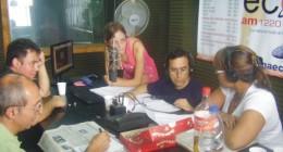 """Inicio de la columna """"Ciudad y Tránsito"""" en el programa de radio """"Vigencia"""", los sábados a las 13 hs. (GMT -03:00, Buenos Aires) por AM 1220 Cadena Eco"""