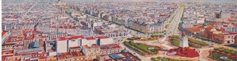 El primer escenario de la zonificación urbana