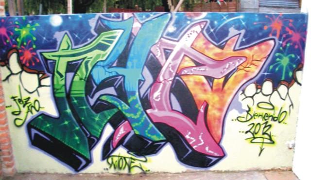 De este modo, el graffiti