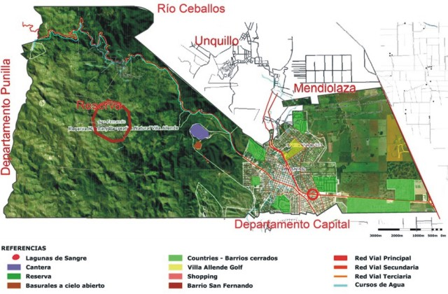 Plan para Villa Allende 1